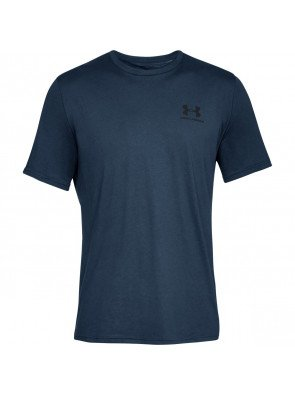Under Armour Sportstyle Left Chest Navy Academy