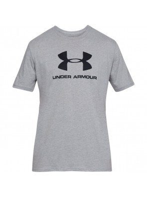 Under Armour Sportstyle Logo SS Gry Light Heather