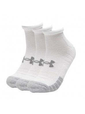 Under Armour Heatgear Locut White Sock 3-Pack