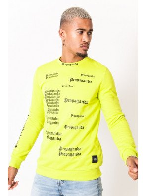 SIXTH JUNE GOTHIC PROPAGANDA SWEATSHIRT LIME