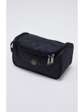 SIKSILK ELITE CHECKERED WASH BAG