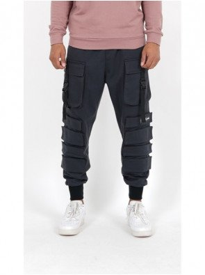 CARGO FRONT BUCKLE POCKET PANT
