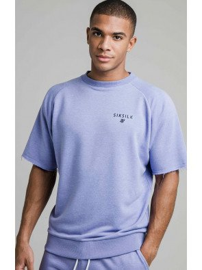 SIKSILK S/S RELAXED CREW SWEATER