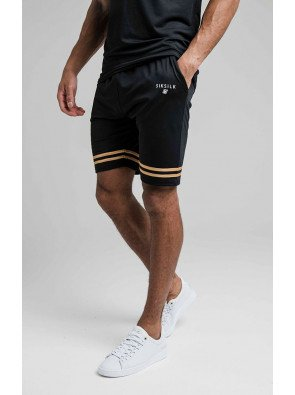 SIKSILK RELAXED MESH BOUND SHORTS