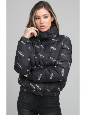 SIKSILK ALL OVER PRINT PADDED JACKET