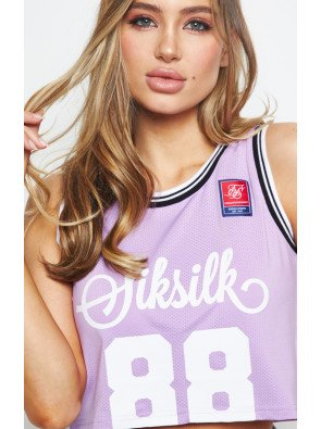 SIKSILK RETRO SPORTS CROP VEST