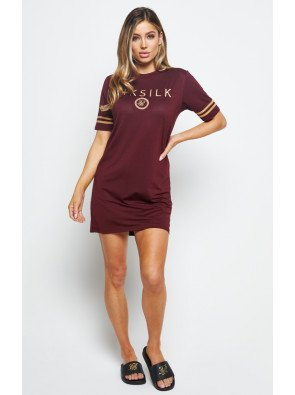 SIKSILK MESH T-SHIRT DRESS