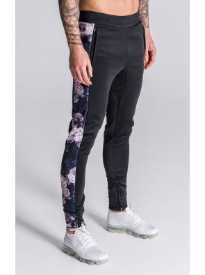 BlackTracksuit Joggers With Nostalgi