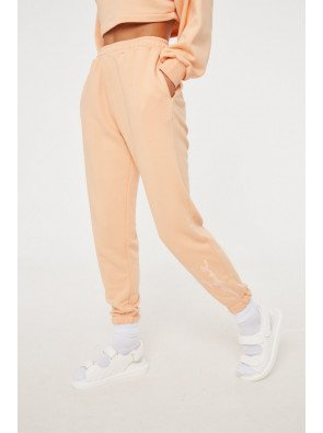 SIGNATURE EMBROIDERED OVERSIZED JOGGERS