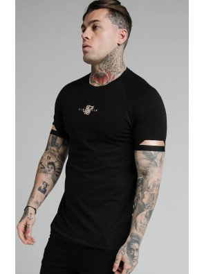 SIKSILK DUAL CUFF TECH TEE