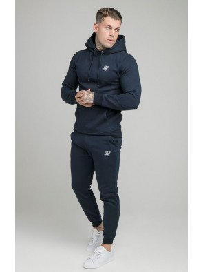 TRACKSUIT SIKSILK MUSCLE FIT NAVY CORE