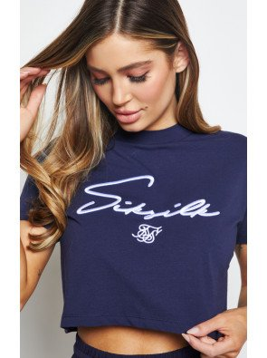 SIKSILK RETRO SPORTS CROP TEE