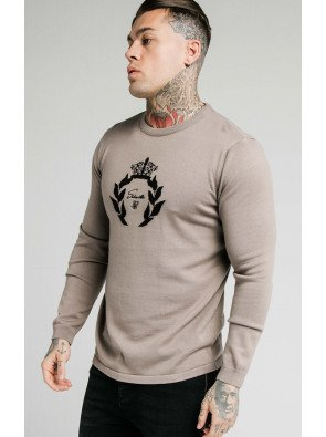 SIKSILK HIGH NECK KNITTED PRESTIGE SWEATER