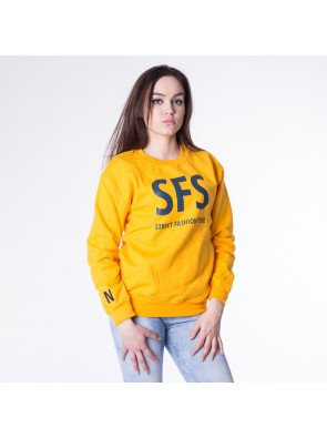 Crewneck Nahodsa Merch UNISEX Yellow realphotonhs