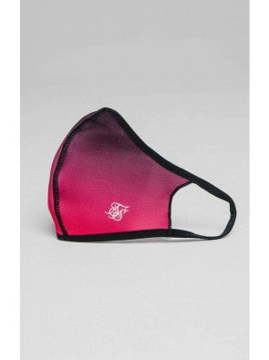 SIKSILK FACE COVERING PINK / BLACK