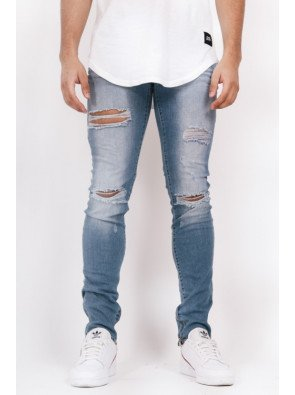 Jeans Sixth June Slim Blue