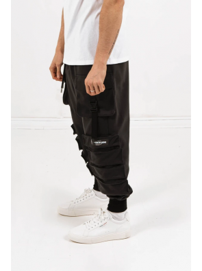 SIXTH JUNE POCKET PANTS BLACK
