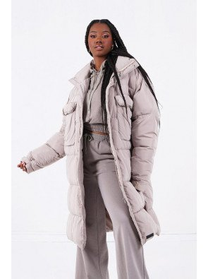 VERY LONG DOWN JACKET