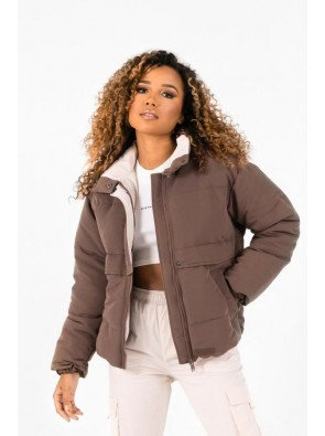 OVERSIZED CONTRASTED PUFFER