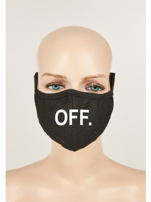 Face Mask OFF 2-Pack black/black