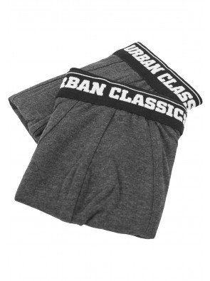 Men Boxer Shorts Double Pack charcoal/charcoal