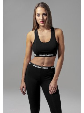 Ladies Logo Bra black