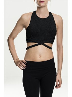 Ladies Active Fashion Bra black