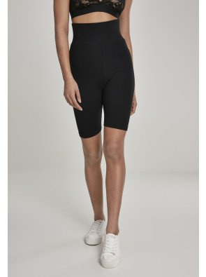 Ladies High Waist Cycle Shorts black