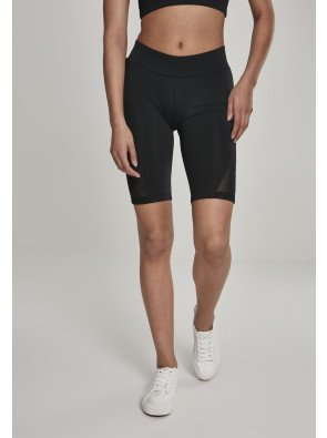 Ladies Tech Mesh Cycle Shorts black