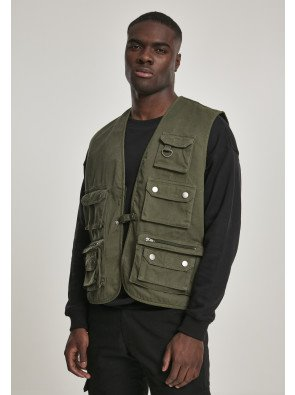 Worker Vest darkolive