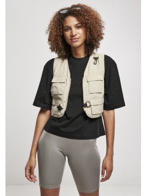 Ladies Short Tactical Vest concrete