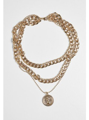 Short Layering Necklace gold