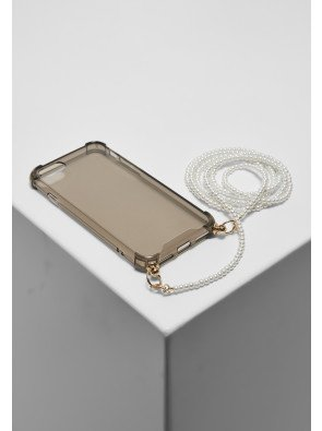Phonecase with Pearl Necklace I Phone 6/7/8 black
