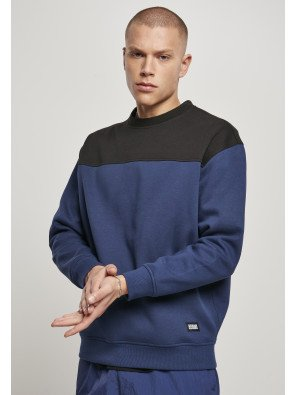Upper Block Crewneck darkblue/black