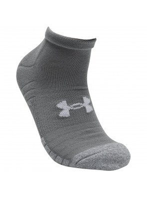 Under Armour Heatgear Locut GRY Steel Sock 3-Pack
