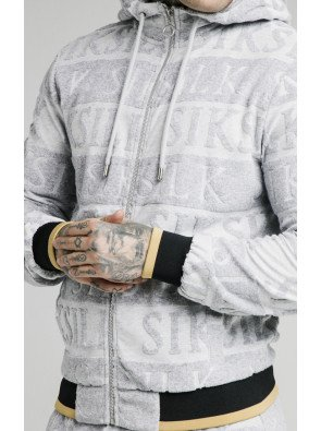SIKSILK INVERSE ZIP THROUGH HOODIE