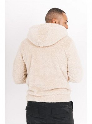 FLUFFY HOODIE WITH POCKET