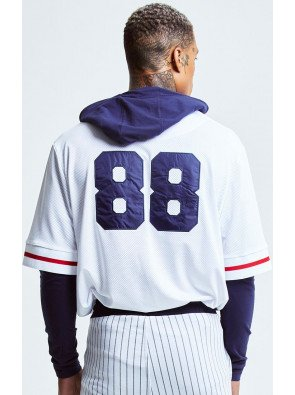 SIKSILK RETRO SPORT LAYERED BASEBALL JERSEY