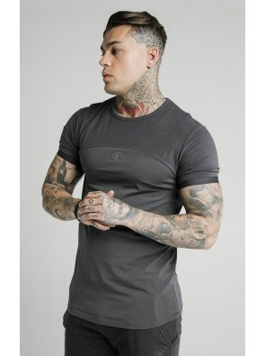 SIKSILK CUT AND SEW GYM TEE