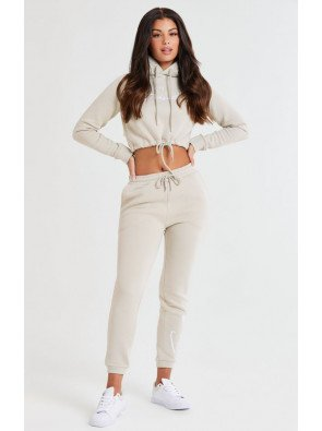 SIKSILK ESSENTIAL CROPPED HOOD CORE