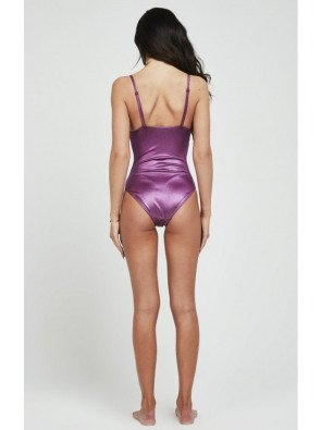 SIKSILK IRRIDESCENT SWIMSUIT