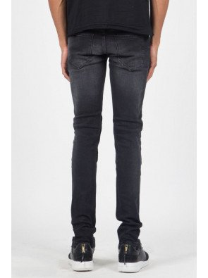 Jeans Sixth June Jean Pleated Black