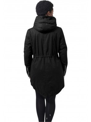 Bunda Urban Classics Sherpa Lined Black