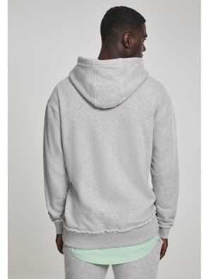 Herringbone Terry Hoody lightgrey