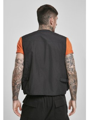 URBAN CLASSICS TACTICAL VEST BLACK