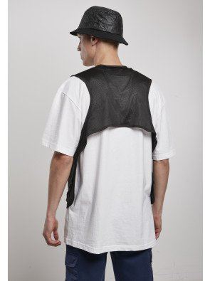 URBAN CLASSICS LIGHT POCKET VEST BLACK