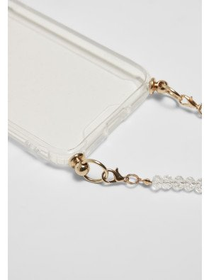 Phonecase with Pearl Necklace I Phone 6/7/8 transparent