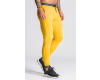 GIANNI KAVANAGH Yellow With Gk Elastic Joggers