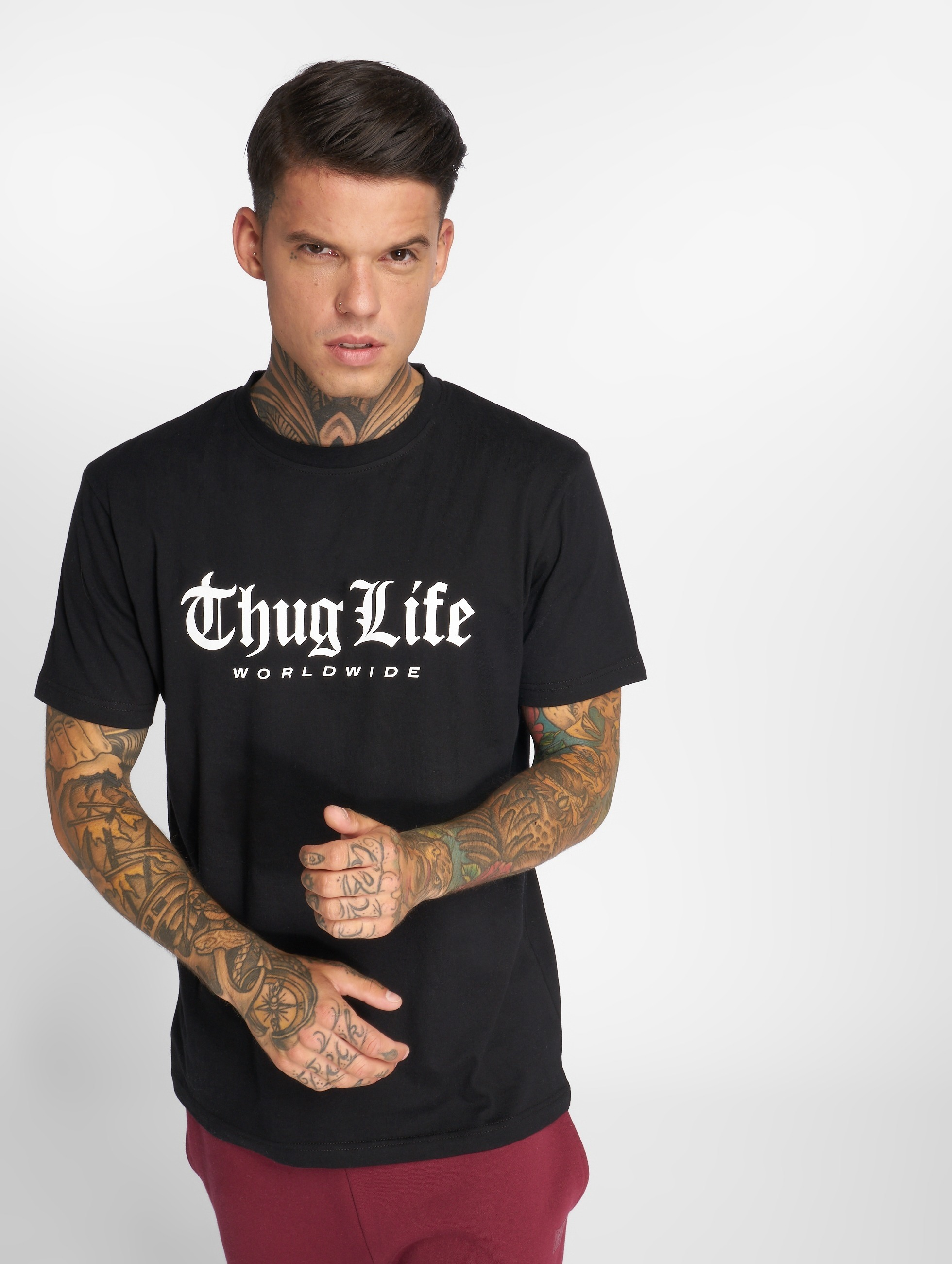 Thug Life / T-Shirt Digital in black S