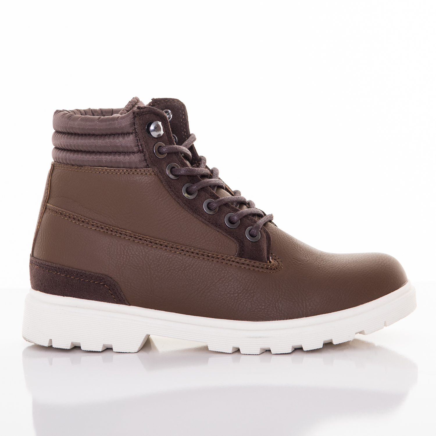 Zimná obuv Urban Classics Winter Boots Brown Darkbrown 42